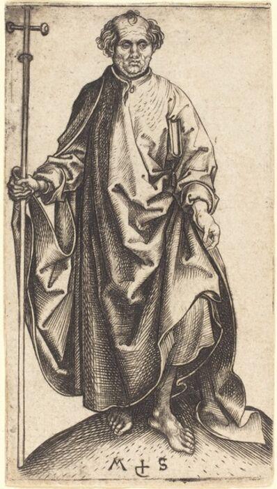 Martin Schongauer, 'Saint Philip', ca. 1480