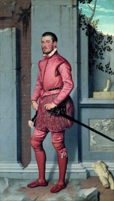 Giovanni Battista Moroni, 'Gian Gerolamo Grumelli', 1555-1560