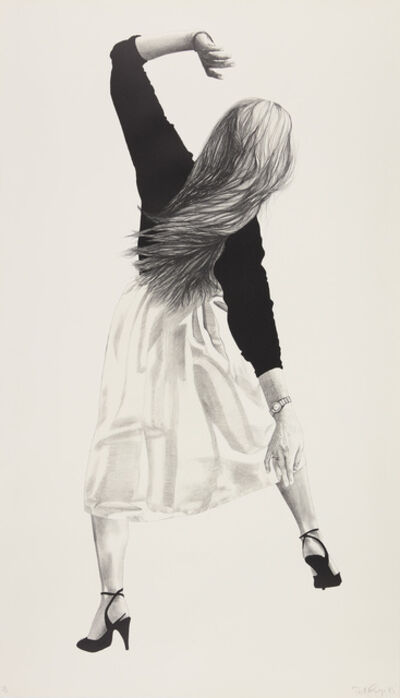 Robert Longo, 'Anne, from Men in the Cities', 1985
