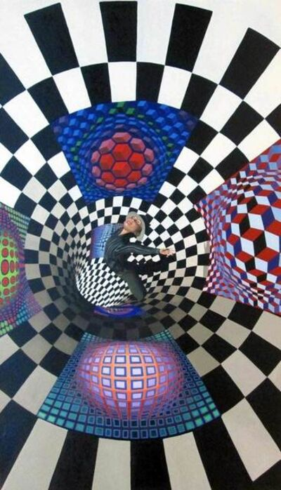 Gully, 'Gully Meets Vasarely ', 2016
