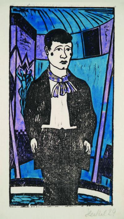 Erich Heckel, 'Junger Clown', 1929