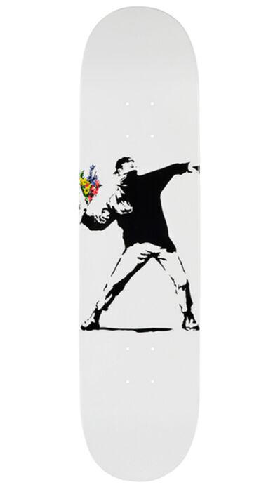 Banksy, 'Flower Bomber Brandalism skate deck', ca. 2017