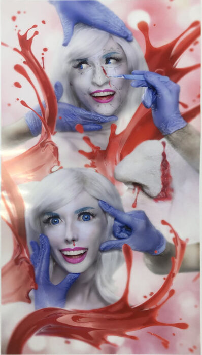 Rachel Maclean, 'The Third Stage of Mending a Face', 2019