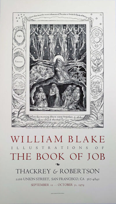 William Blake, 'William Blake, Illustrations of The Book of Job', 1979