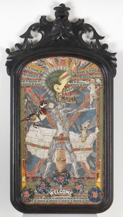 Felipe Jesus Consalvos, 'The Marauders Are Coming (Double-sided)', c. 1920-50