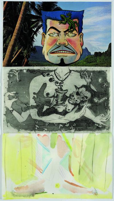Allen Ruppersberg, 'Exquisite Corpse 88', ca. 2011