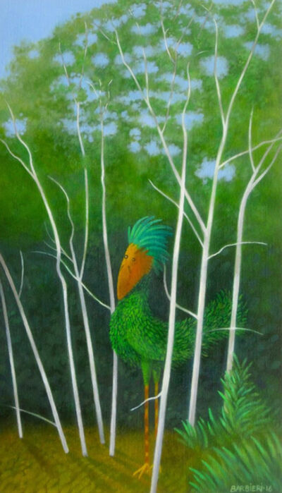 Joseph Barbieri, 'Stevenson's Plumed Birchbird', 2016