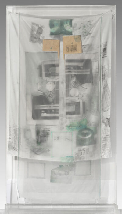 Robert Rauschenberg, 'Untitled 75.090 (from the Hoarfrost Series)', 1975