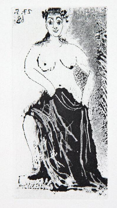 Pablo Picasso, 'Une Posant sur un Piédestal', 1968
