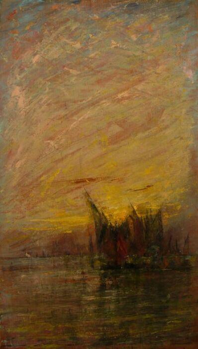 William Gedney Bunce, 'Venetian Sunset', 1912