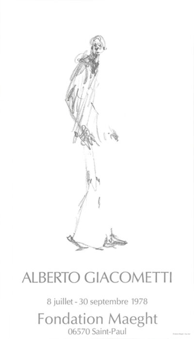 Alberto Giacometti, 'Dessin II', 1978