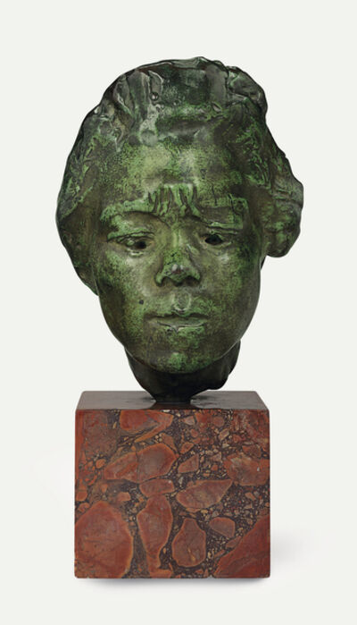 Auguste Rodin, 'Masque d'Hanako, étude type A, modèle moyen', ca. 1920