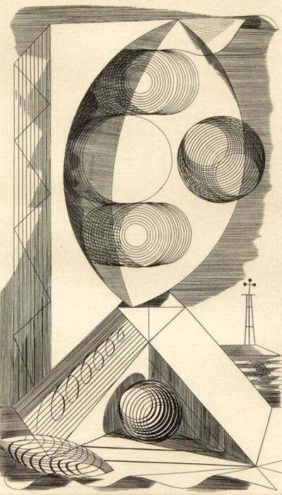 Edward Bawden, 'Composition', 1937