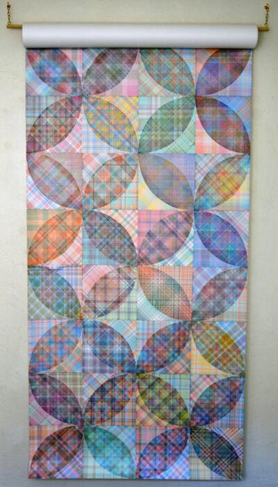 Steven Vasquez Lopez, 'Floral/Circle II', 2018