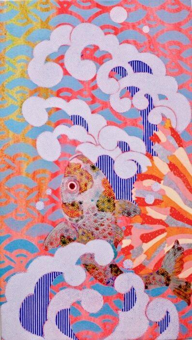 KAORUKO, 'Carp Climbing Up a Waterfall II', 2020