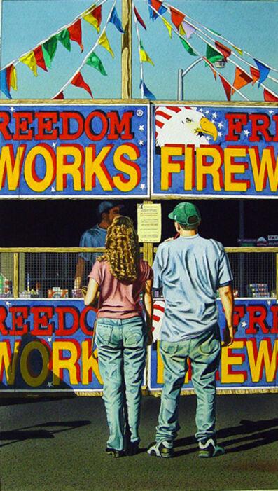 James Torlakson, 'Freedom Fireworks', 1997