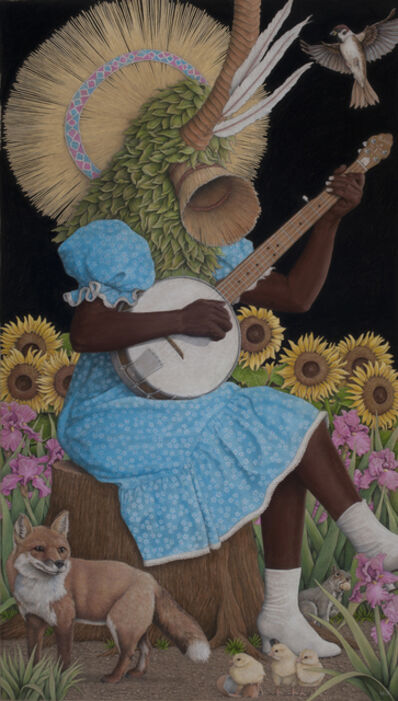 Win Wallace, 'Banjo Player', 2019