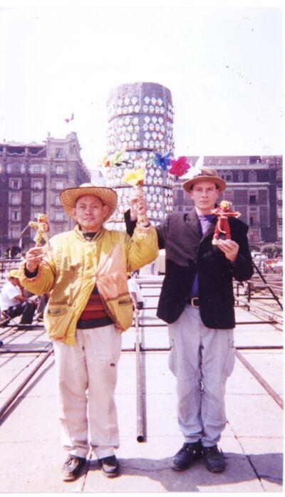 Mondriaan FanClub, 'T, Teotihuacan, Zocalo, Mexico City, 2000', 2000