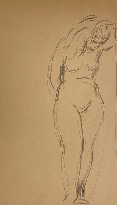Jared French, 'Untitled (Female Figure) [Nude Woman with Bowed Head]', 1930