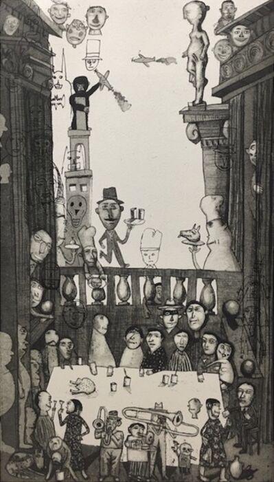 Armando Romero, 'El Banquete', 2017
