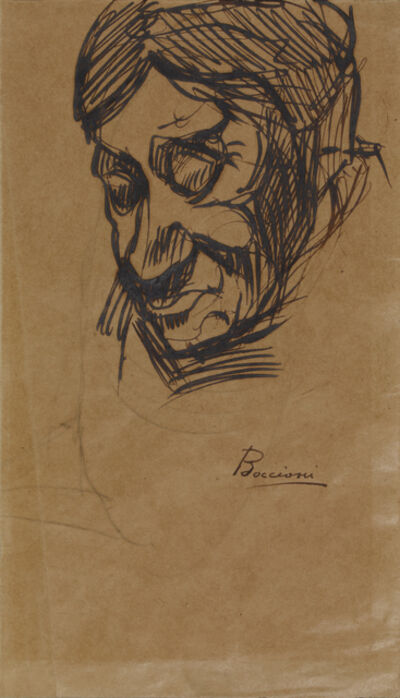 Umberto Boccioni, 'Ritratto'