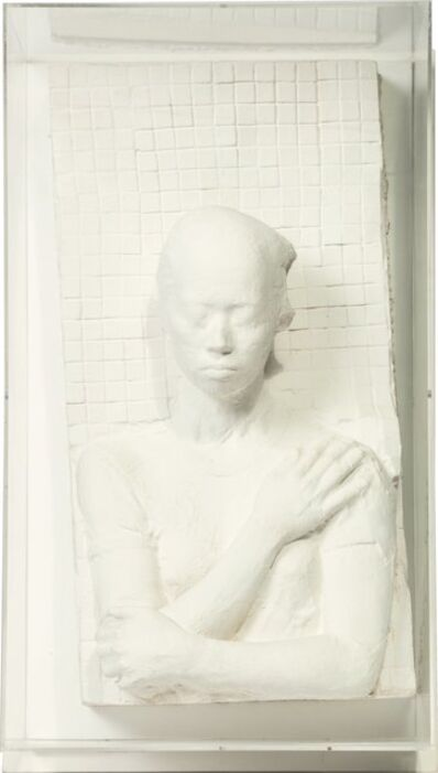 George Segal, 'Oriental Woman Against Tile Wall', 1982