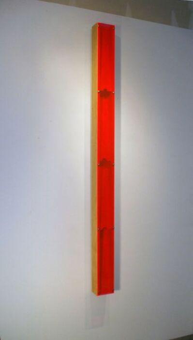 Tom Hollenback, 'Pink Light Flume Step, Circle', 2012