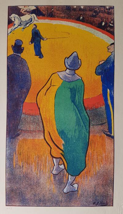 Henri-Gabriel Ibels, 'Au cirque, le clown', 1893