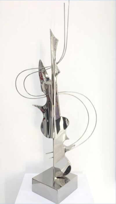 Leonardo Nierman, 'Violin Doble', 2017