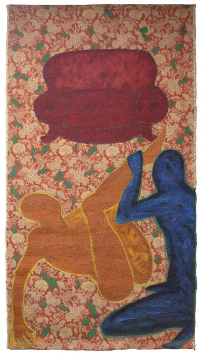 Feliciano Centurión, 'Sillón rojo', 1989