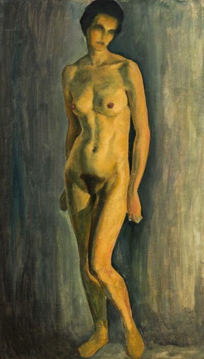 Ernst Nepo, 'Standing Nude', ca. 1925