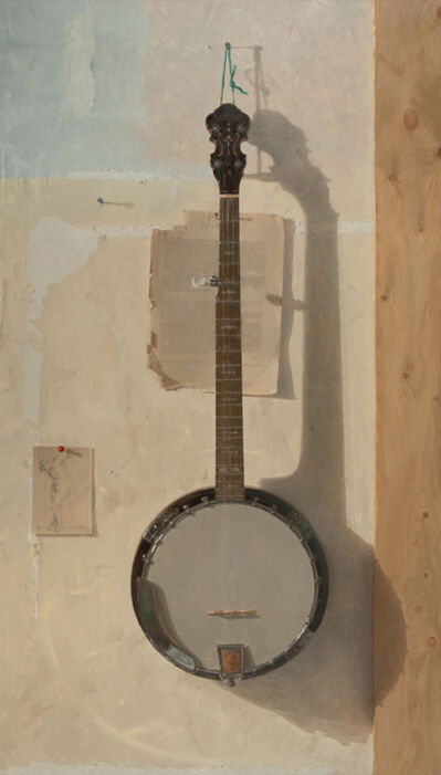 Jacob Collins, 'Banjo with Drawing', 2015