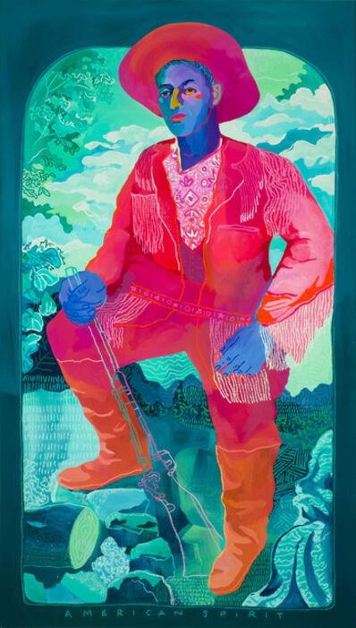 John Holcomb, 'American Spirit (Turquoise)', 2019