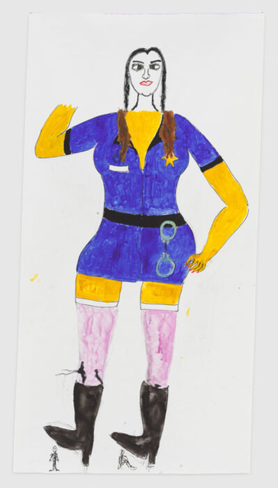 Reba Maybury, ''I'll respect her authority, I always had a thing for women in uniform'', 2019