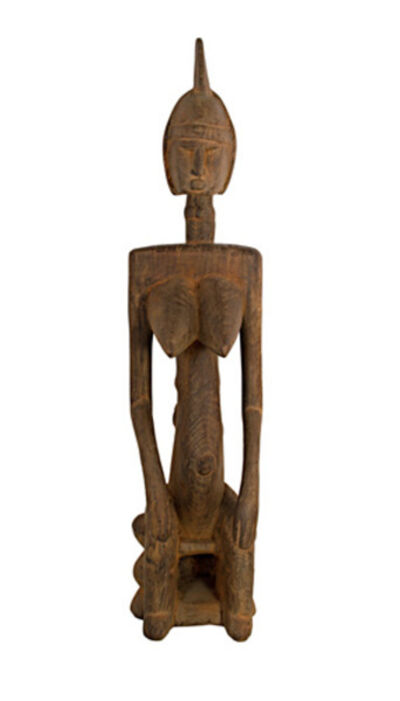 Unknown African, 'Bambara Maternity Figure Mali', ca. 1900