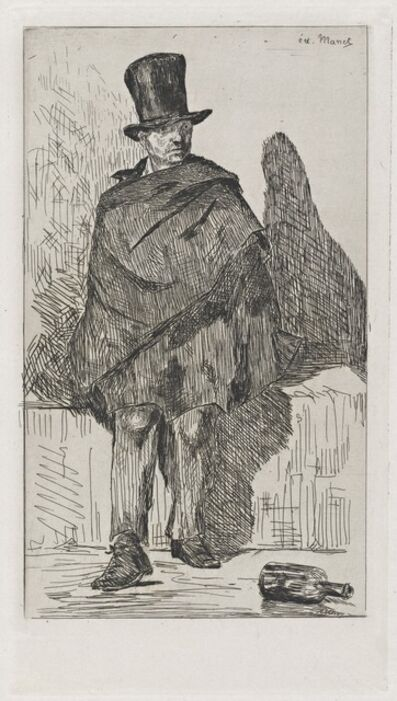 Édouard Manet, 'The Absinthe Drinker (Le buveur d'absinthe)', 1862