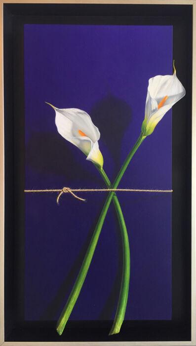 Otto Duecker, 'Entwined Calla Lillies', 2019