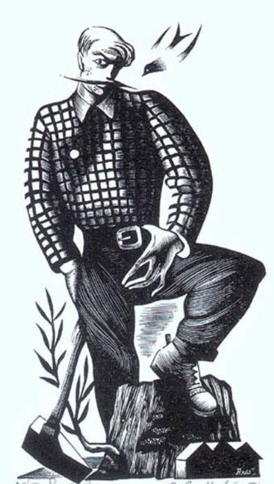 Bernard Brussel-Smith, 'Paul Bunyan', 1946