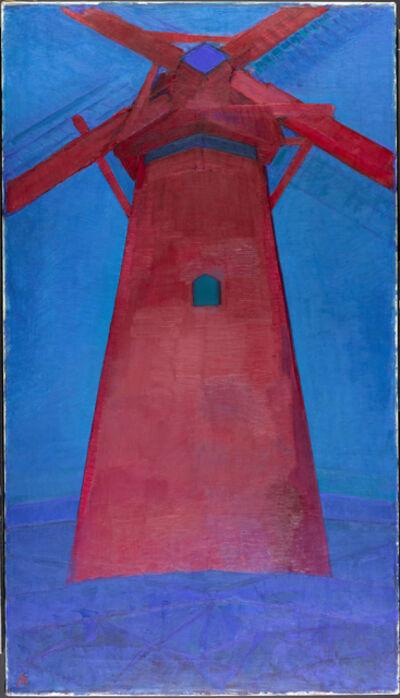 Piet Mondrian, 'Molen (Mill); The Red Mill', 1911