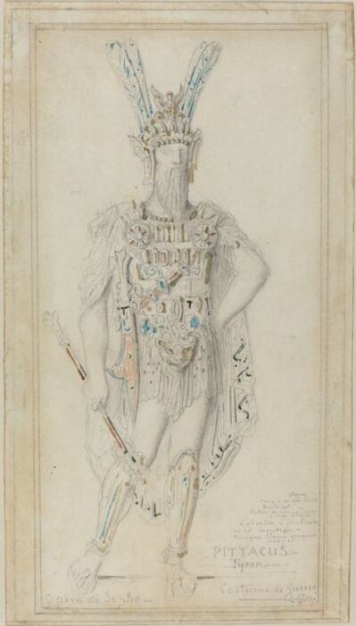 Gustave Moreau, 'Pittacus the Tyrant in War Costume', 1883
