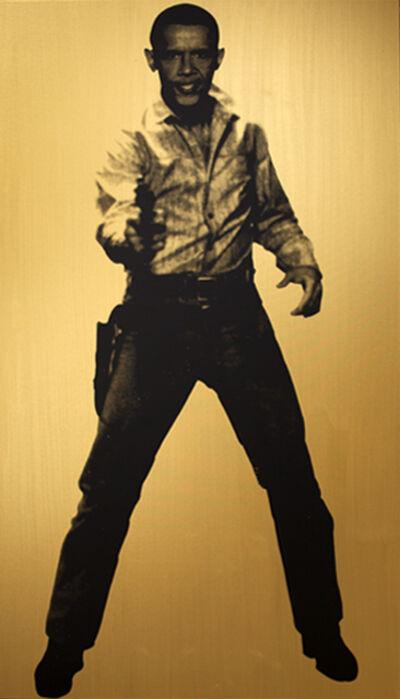 Knowledge Bennett, 'Obama Cowboy (One)', 2014