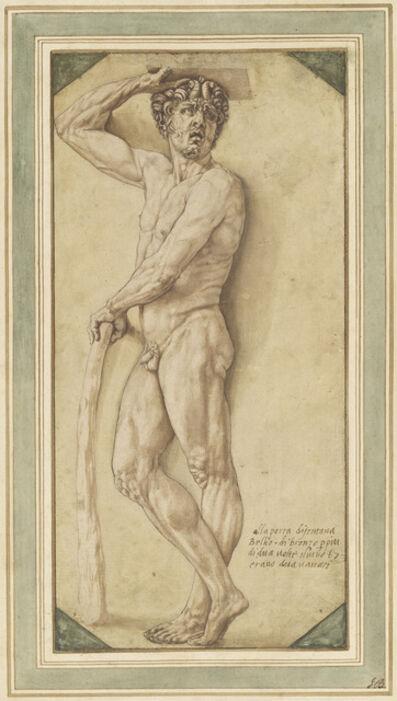 Benvenuto Cellini, 'A Satyr', 1544/1545