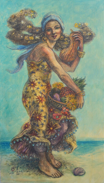 "Alicia de la Campa, '""A Orillas del Mar"" (Seaside)', 2018"