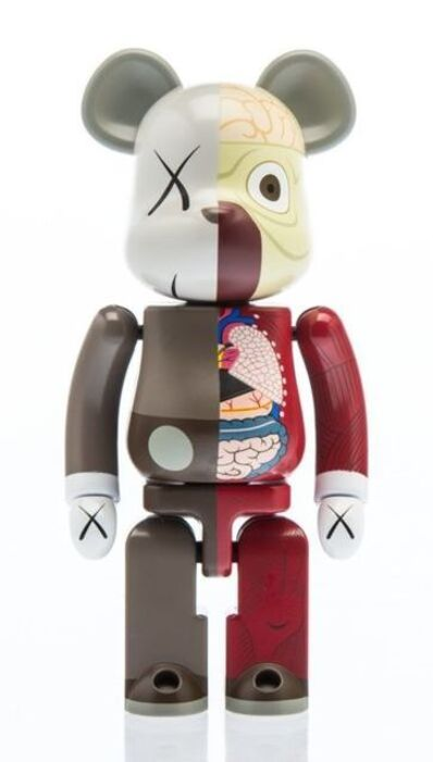 KAWS X BE@RBRICK, '200% Dissected Companion (Brown)', 2010
