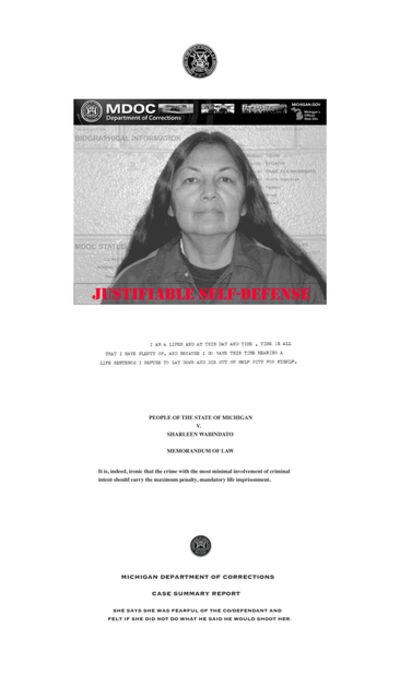Carol Jacobsen, 'Letter of the Law: Sharleen', 2019