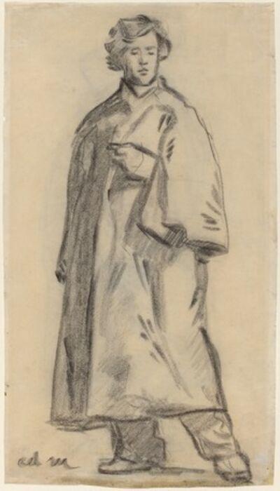 Édouard Manet, 'Man Wearing a Cloak [recto]', 1852/1858