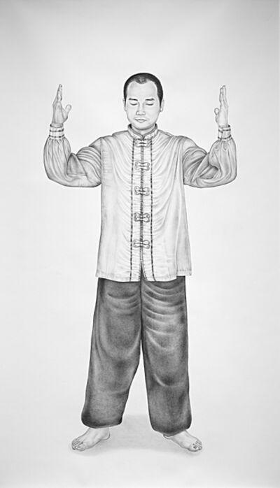 Henna Pohjola, ' Fǎ lún zhuāng fǎ, Falun Standing Stance, Portrait of Shi James'