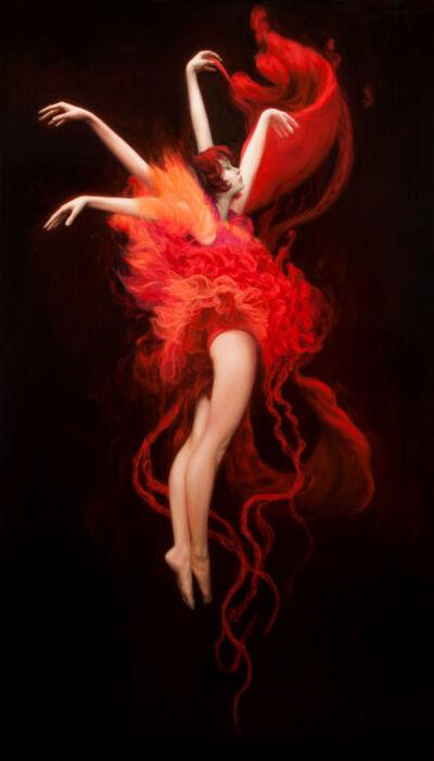 Dorian Vallejo, 'Red Dance'