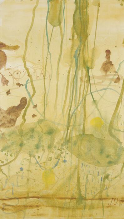John Olsen (b.1928), 'Wollundry Lagoon, Wagga Wagga', 1981