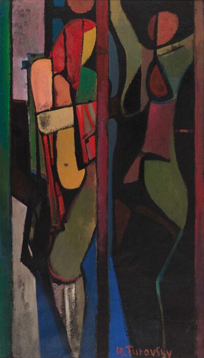 Mikhail Turovsky, 'Two Standing Figures', ca. 1995